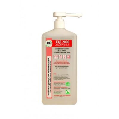 Средство для дезинфекции АХД-2000 express, 1 л, с дозатором