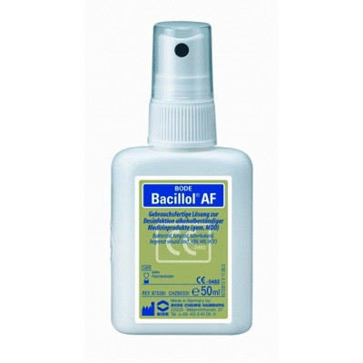 Средство для дезинфекции с распылителем Бациллол АФ,50 мл