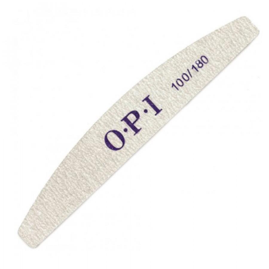 Пилка OPI для ногтей, полукруг, 100/180