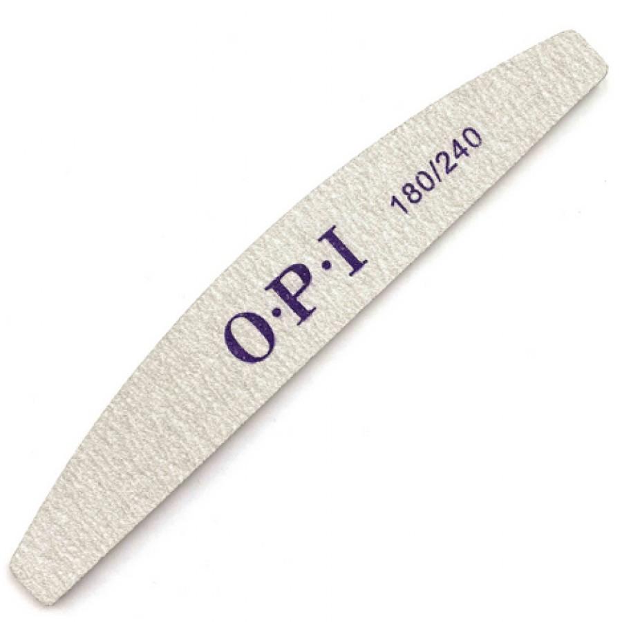 Пилка OPI для ногтей, полукруг, 180/240