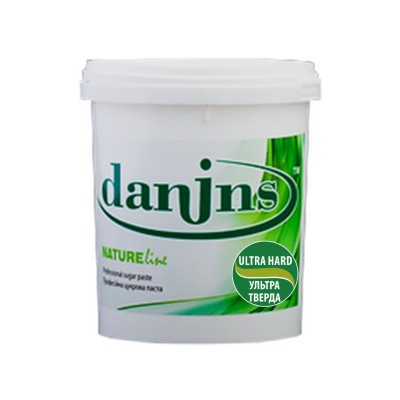 Сахарная паста для шугаринга Danins, ультра твердая, 1300 г