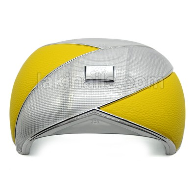Сенсорная гибридная лампа UV+LED Love Crazy LC8, 36W, желтая