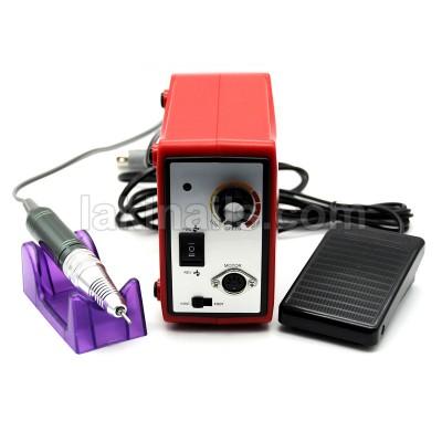 Фрезер для манікюру і педикюру Nail Drill Set ZS-701, 65 W, 45 000 оборотів, червоний