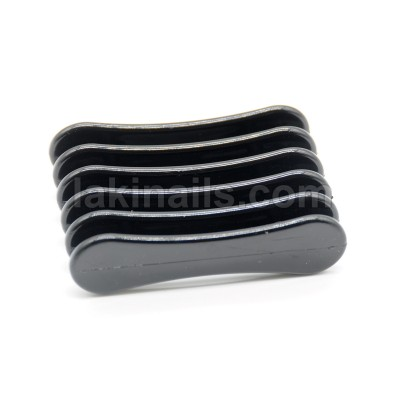 Подставка пластиковая для кистей, черная