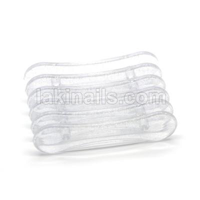 Підставка пластикова для кистей, прозора