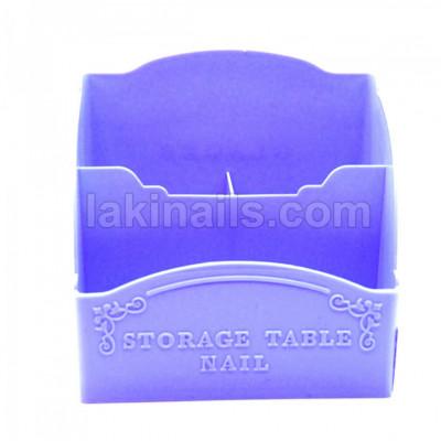 Підставка для інструментів/пензлів широка, блакитна