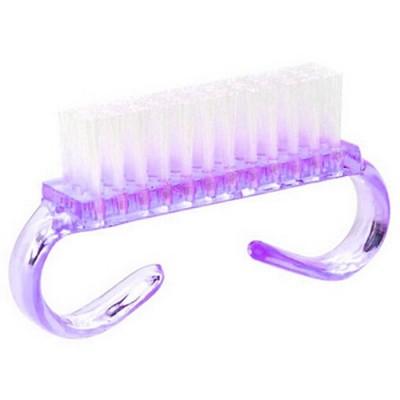 Щетка для пыли и глиттера, фиолетовая