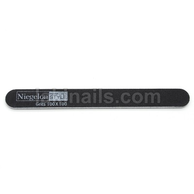Пилка вузька Niegelon 100 * 100, чорна