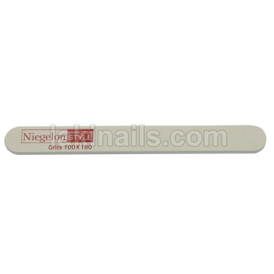 Пилка вузька Niegelon 100 * 180, сіра