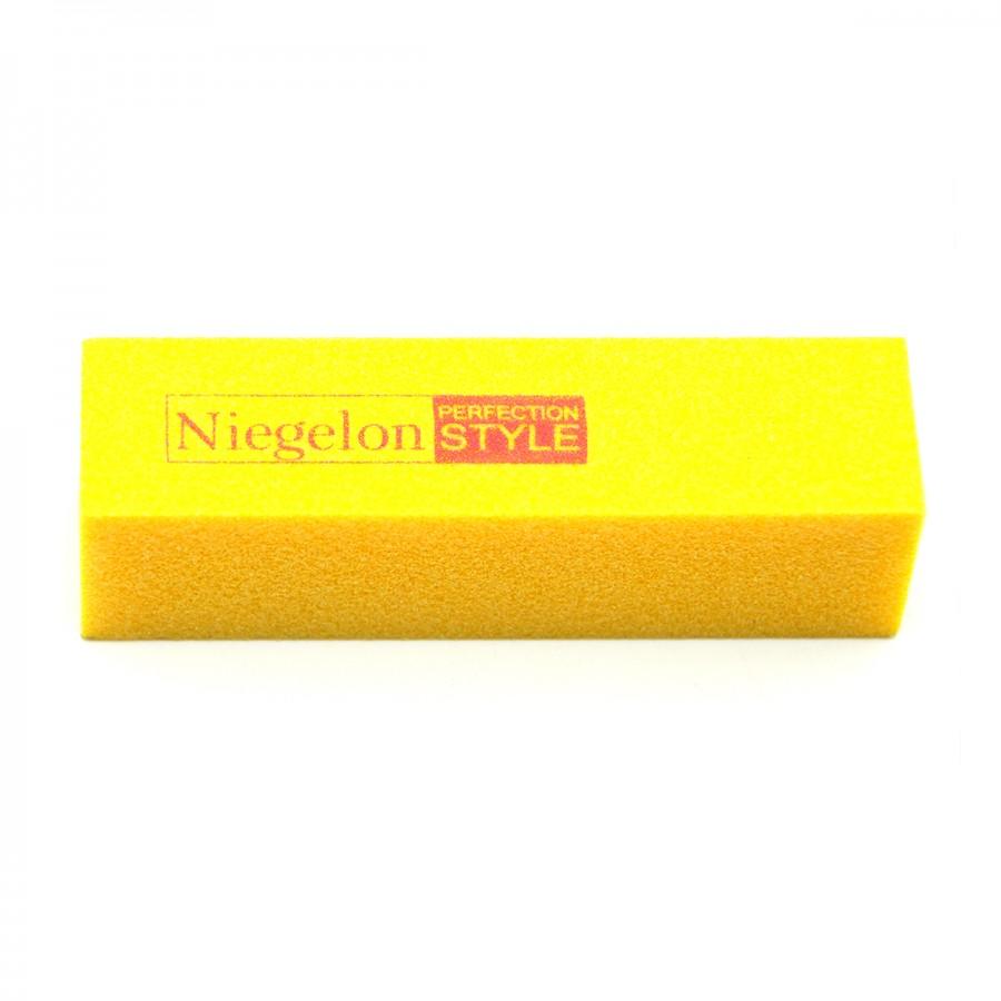 Бафік шліфувальний Niegelon жовтий 4х сторонній 100 * 100