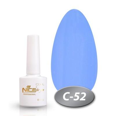 Гель-лак NICE COOL №С52, голубой
