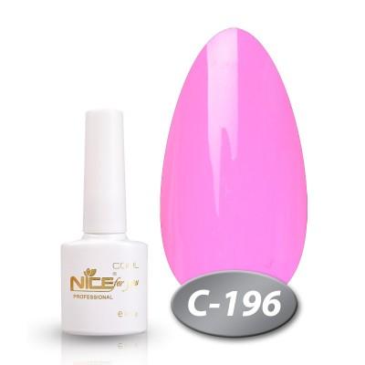 Гель-лак NICE COOL №С196, розовый