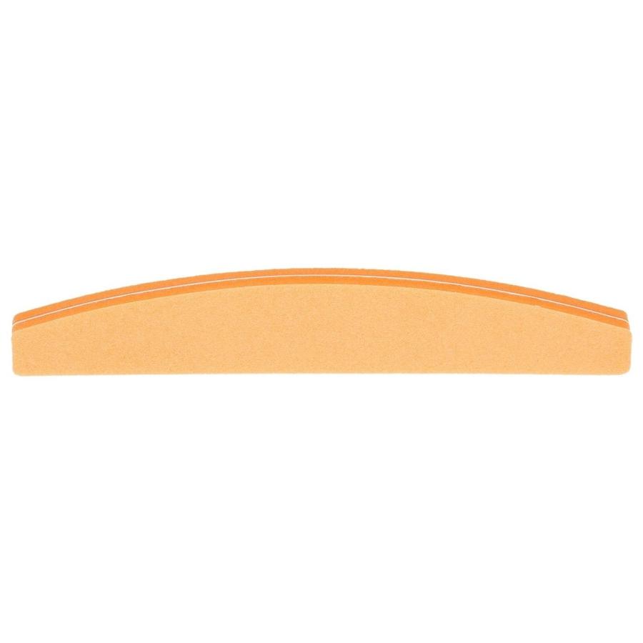 Баф полукруг 100/180, оранжевый