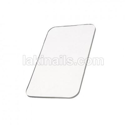 Силиконовый коврик для наращивания ресниц, прозрачный