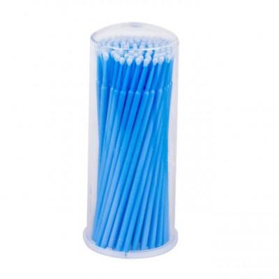 Микробраши (аппликаторы) в тубусе, синие