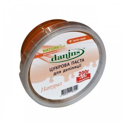 Сахарная паста для шугаринга в домашних условиях Danins, натурал, 200 г