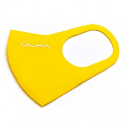 Многоразовая питта маска Ülka, желтая