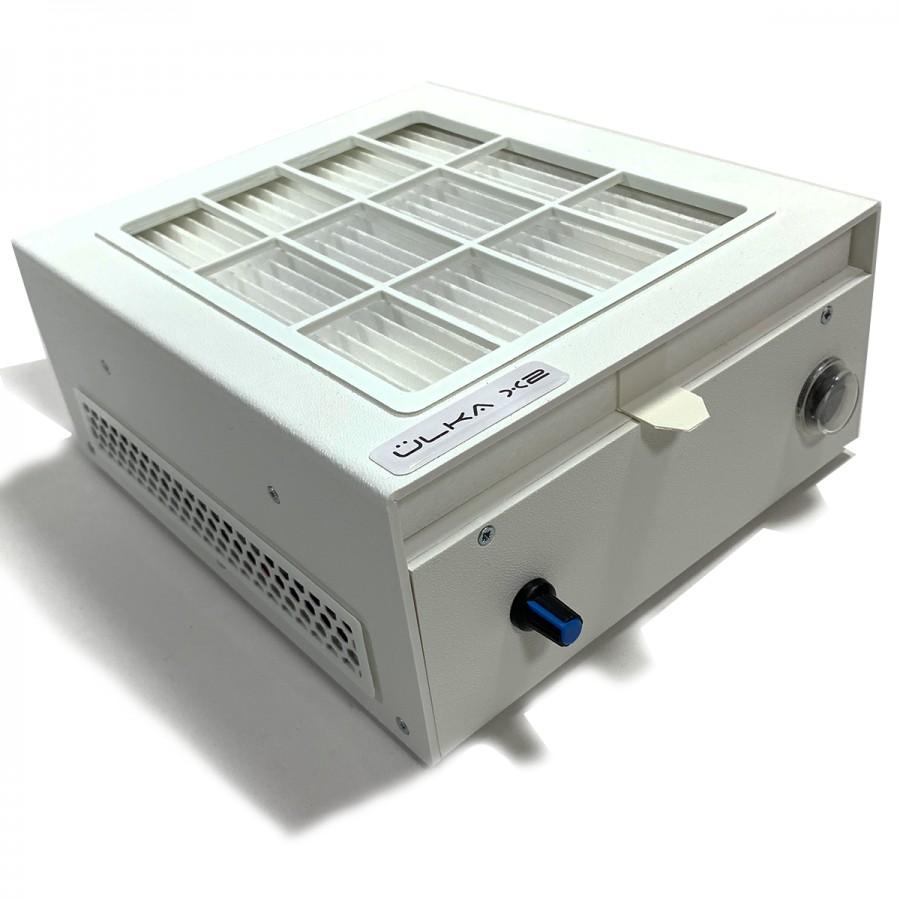 Вытяжка настольная ULKA X2F с HEPA фильтром, 56W, белая
