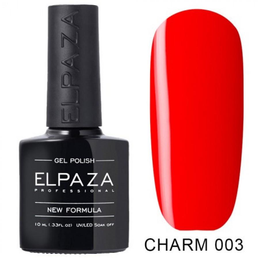 Гель-лак ELPAZA Charm №003, красный