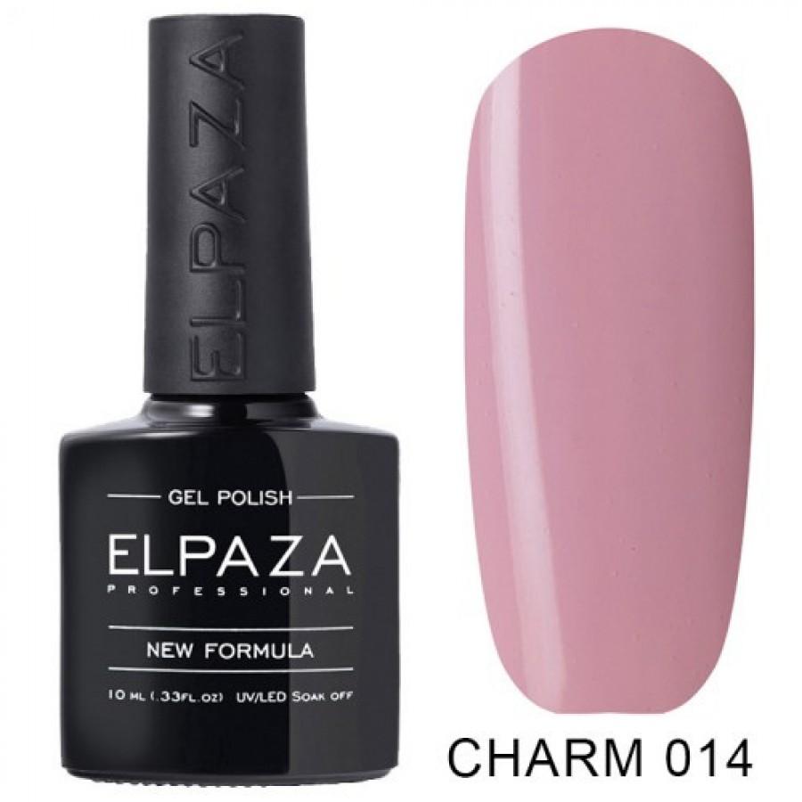 Гель-лак ELPAZA Charm №014 Парижанка, розовый