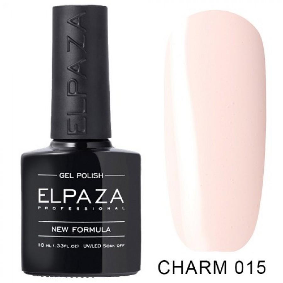 Гель-лак ELPAZA Charm №015 Фея, розовый