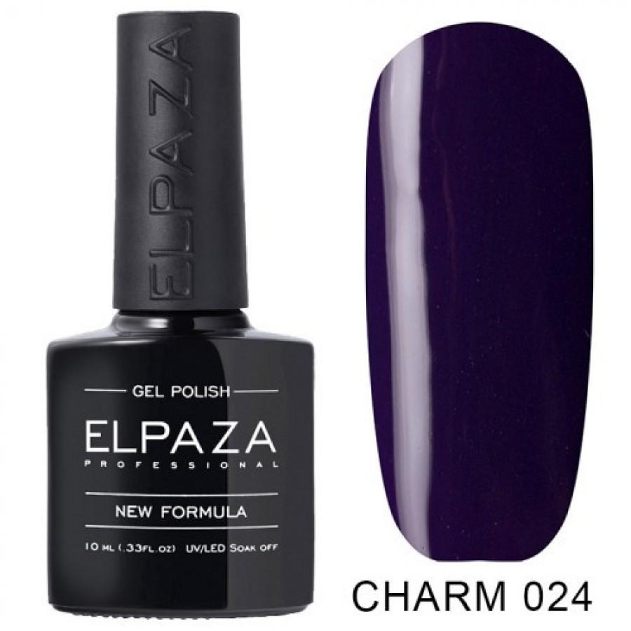 Гель-лак ELPAZA Charm №024 Синьова, синій