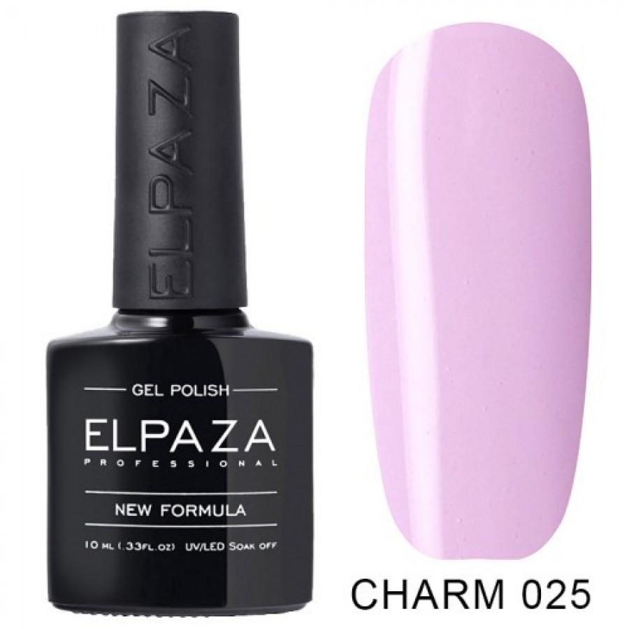 Гель-лак ELPAZA Charm №025 Мальвіна, рожевий