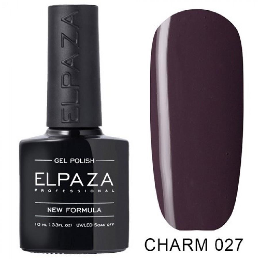 Гель-лак ELPAZA Charm №027 Новелла, фиолетовый