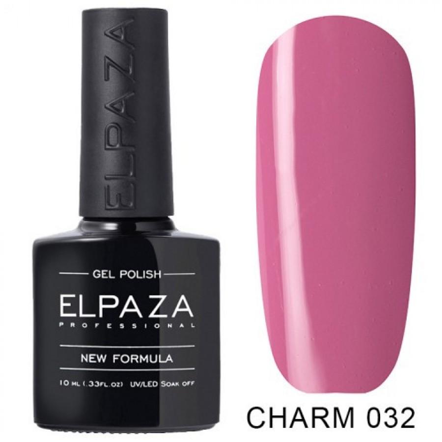 Гель-лак ELPAZA Charm №032 Розовый кварц, розовый