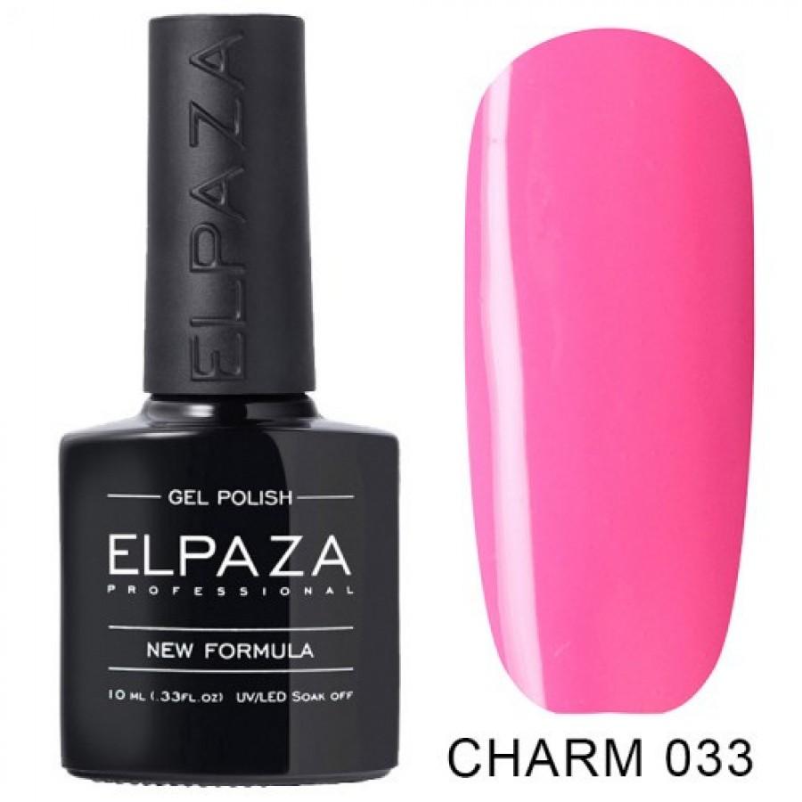 Гель-лак ELPAZA Charm №033 Фуксия, розовый
