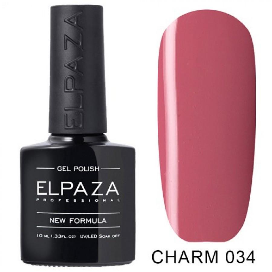 Гель-лак ELPAZA Charm №034 Луиза, розовый