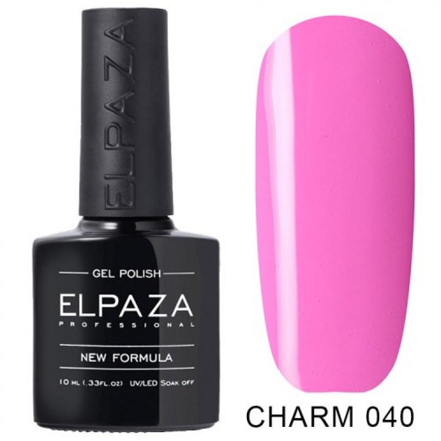 Гель-лак ELPAZA Charm №040 Крихке серце, рожевий