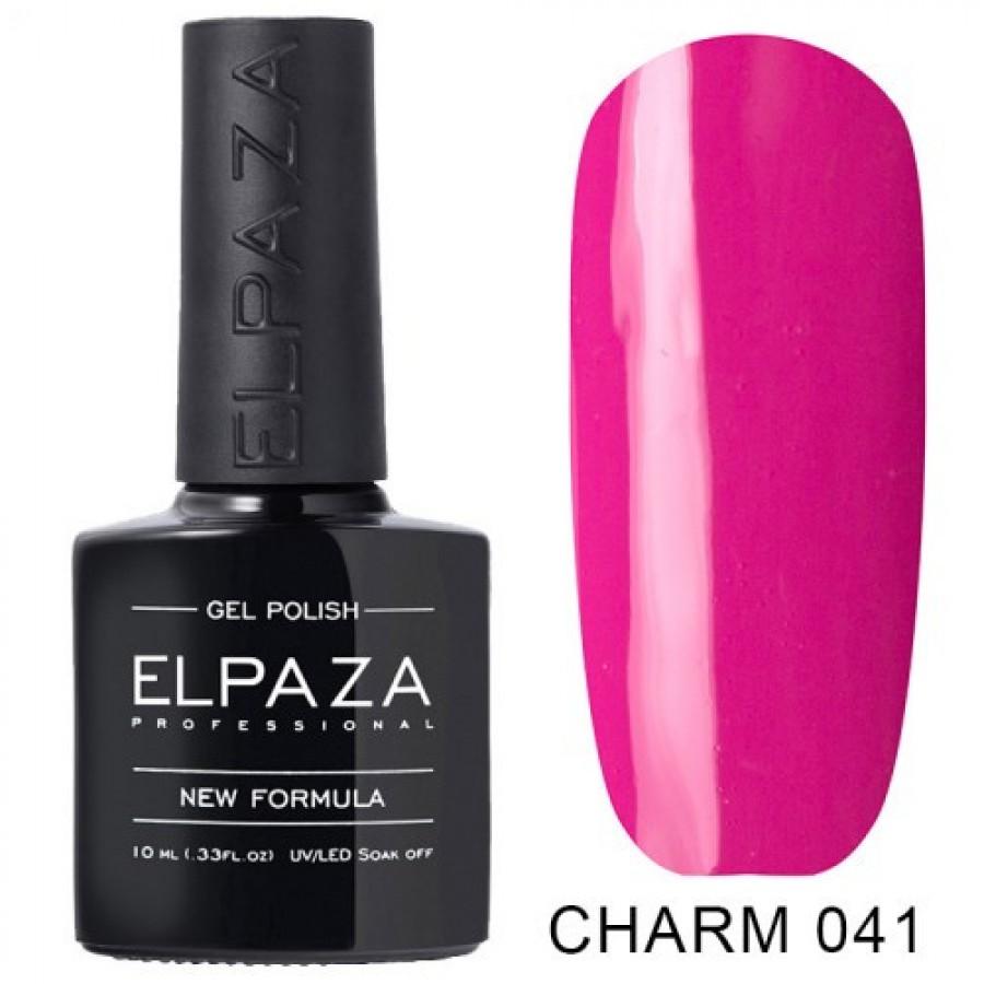 Гель-лак ELPAZA Charm №041 Малиновые мечты, розовый