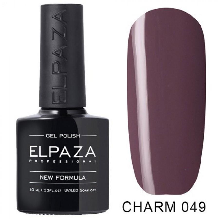 Гель-лак ELPAZA Charm №049 маккіато, рожево-ліловий
