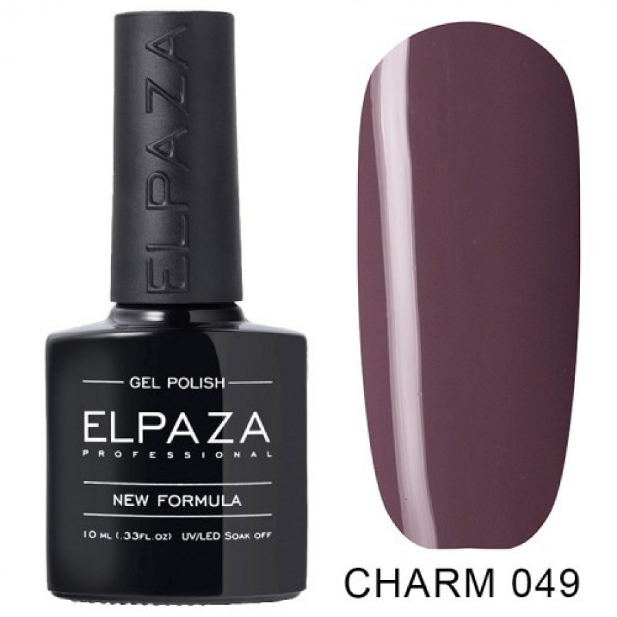 Гель-лак ELPAZA Charm №049 Маккиато, розово-лиловый