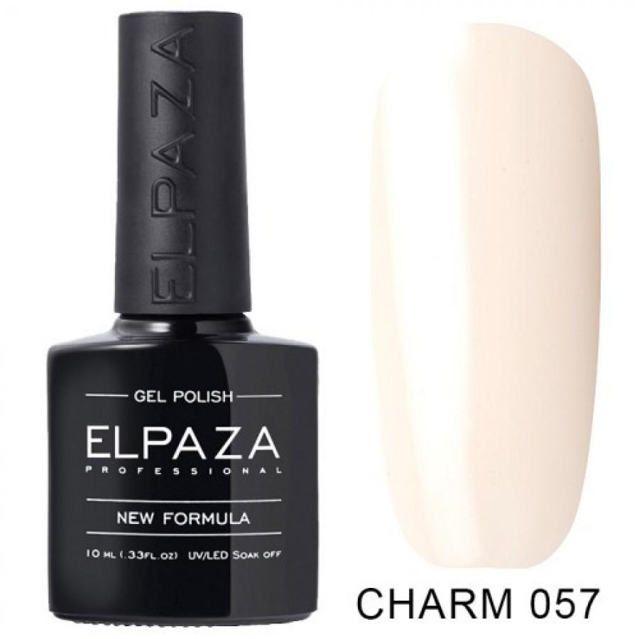 Гель-лак ELPAZA Charm №057 Адель, бело-персиковый