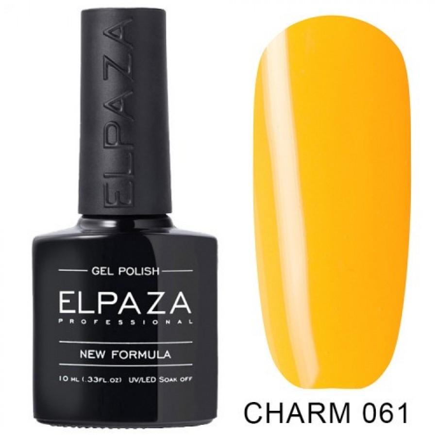 Гель-лак ELPAZA Charm №061 Апероль, помаранчевий