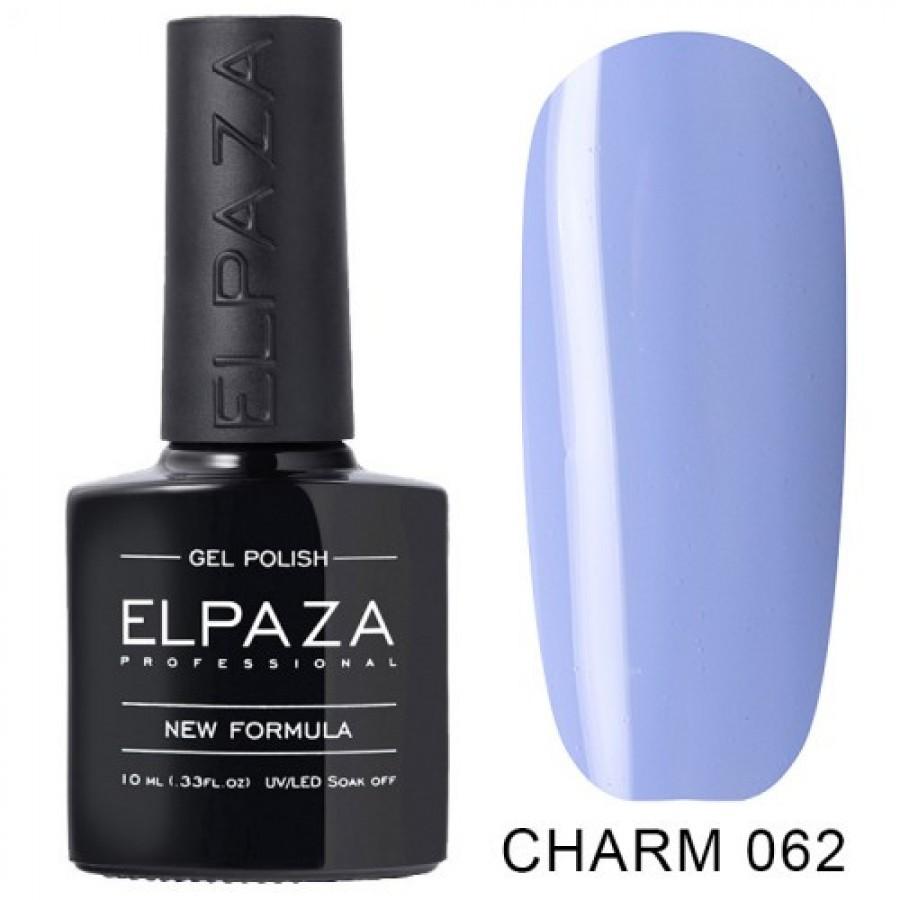 Гель-лак ELPAZA Charm №062 Герань, блакитний