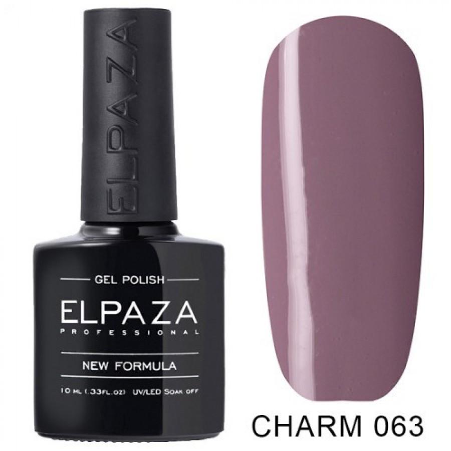 Гель-лак ELPAZA Charm №063 Черничный пудинг, розово-лиловый