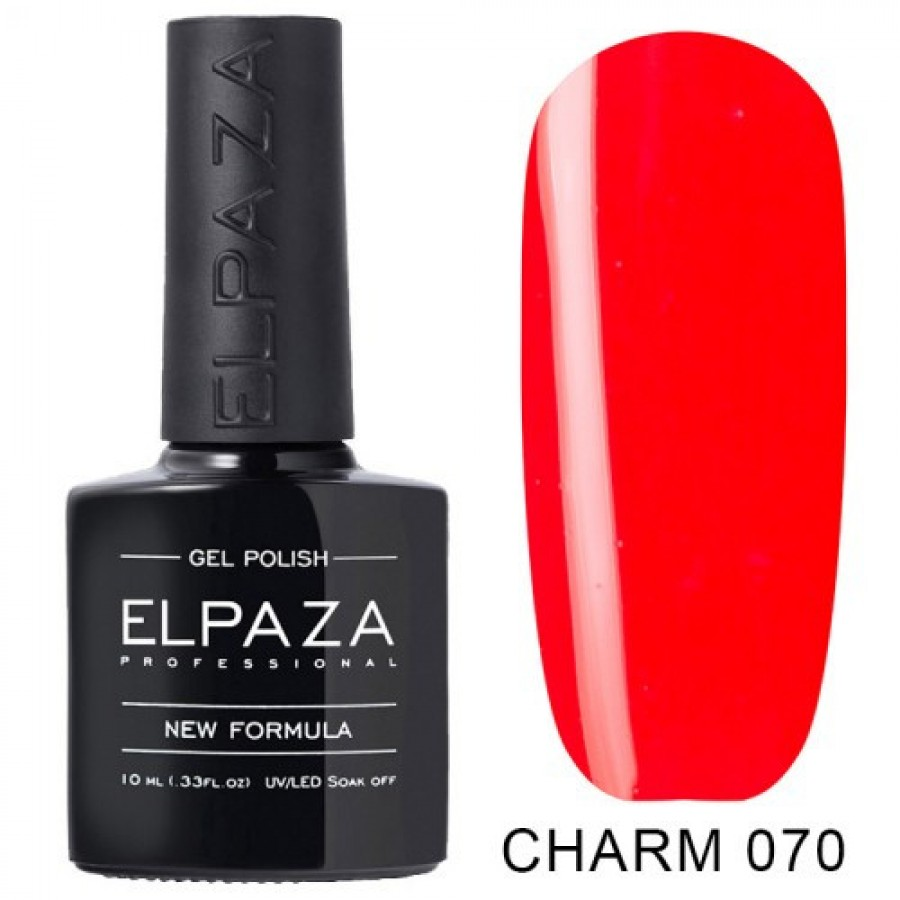 Гель-лак ELPAZA Charm №070 Маркіза, червоний