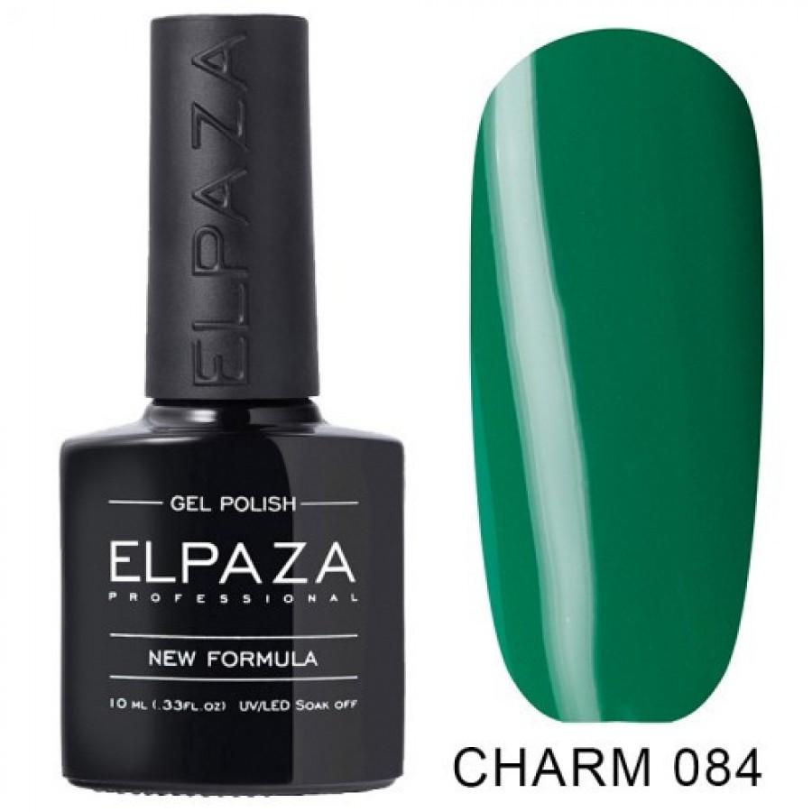 Гель-лак ELPAZA Charm №084 Помічник Санти, зелений