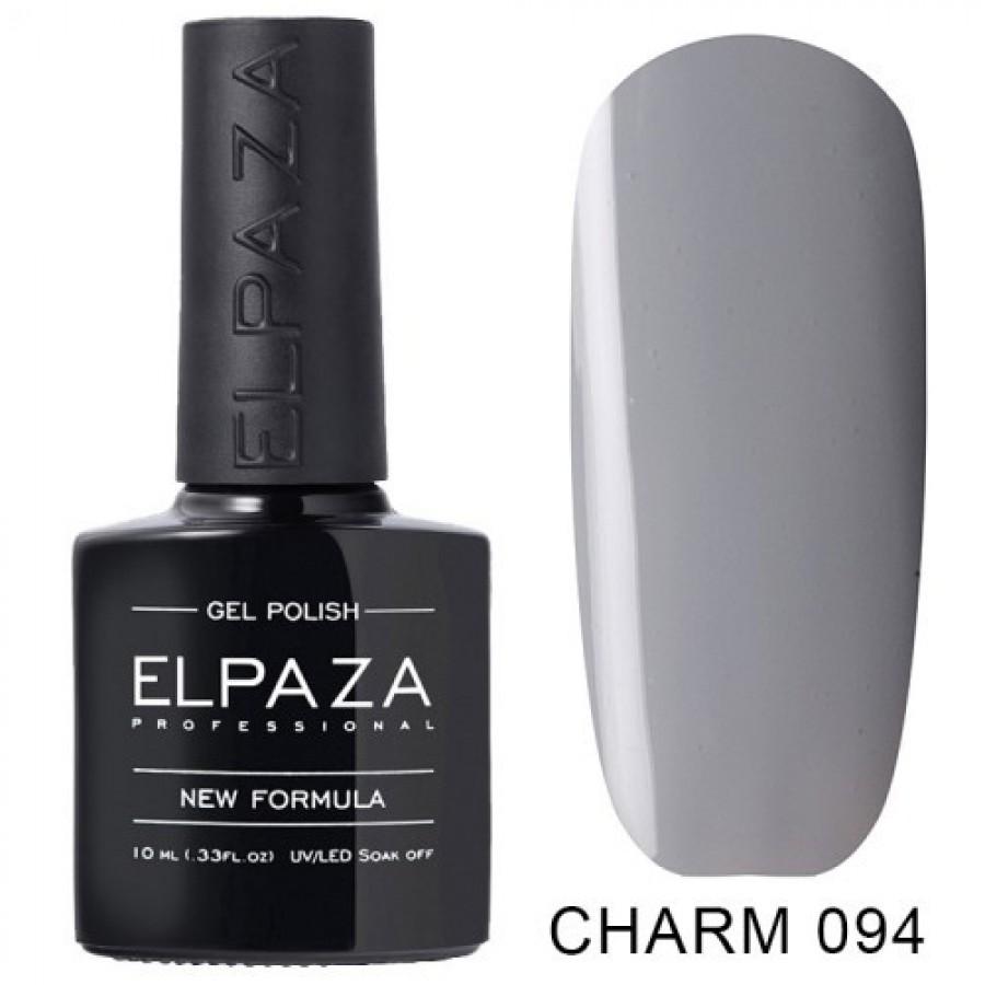 Гель-лак ELPAZA Charm №094 Лондон, светло-серый