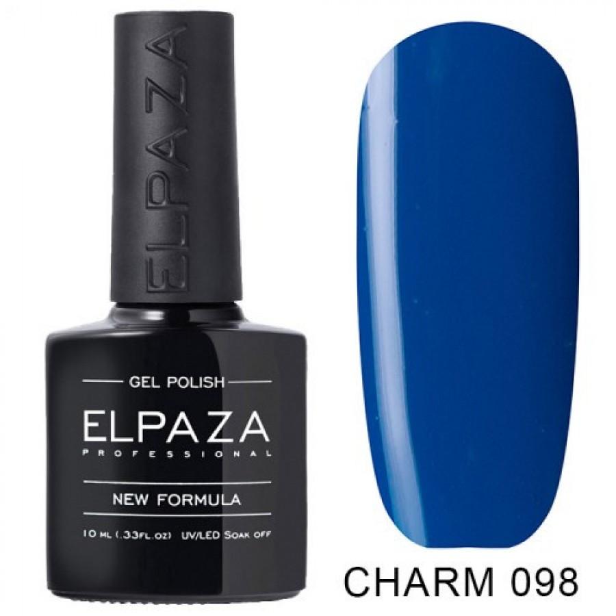 Гель-лак ELPAZA Charm №098 Дайвинг, синий