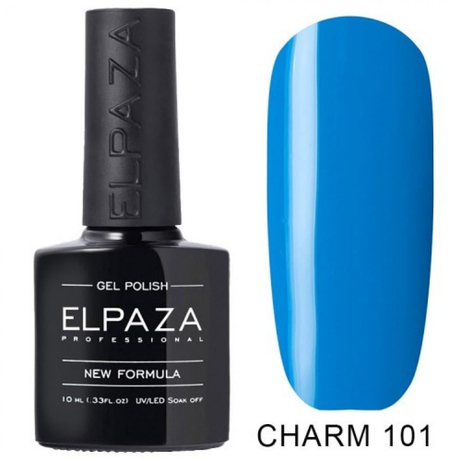Гель-лак ELPAZA Charm №101 Океан, синій