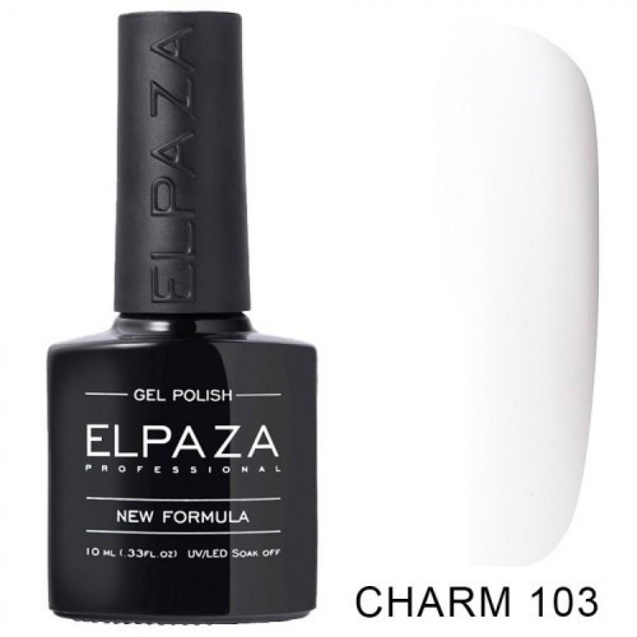 Гель-лак ELPAZA Charm №103 Монреаль, білий