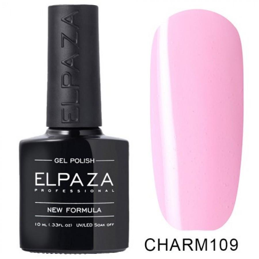 Гель-лак ELPAZA Charm №109 Райский пейзаж, розовый