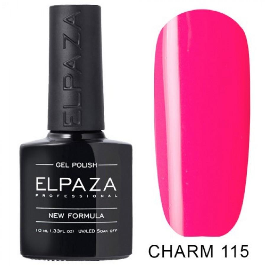 Гель-лак ELPAZA Charm №115 Империал, розовый