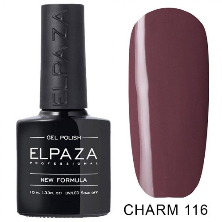 Гель-лак ELPAZA Charm №116 Клеопатра, сливово-бежевий