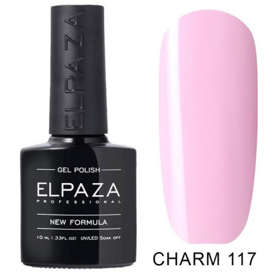 Гель-лак ELPAZA Charm №117 Бант, розовый