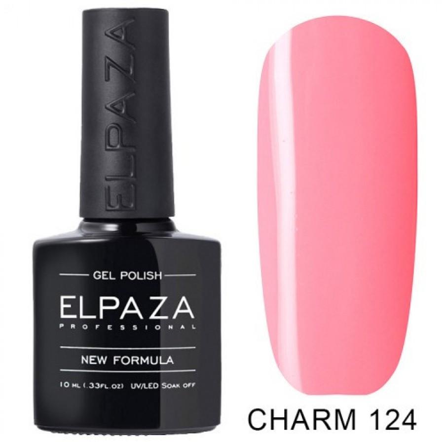Гель-лак ELPAZA Charm №124 Аліса, рожевий
